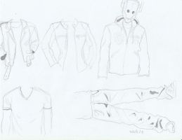 Clothes studies by Graphite451