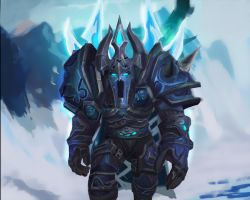 Deathknight fan art by Huntermanx