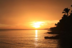 Dominican sunset 1 by rbrew