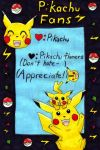 Pikachu Fans ID Contest entry by MewIchigoZoey