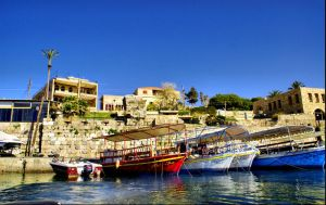 Byblos Harbour 3, Lebanon by gors