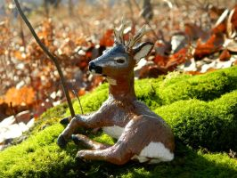 Roe Deer Sculpture by SlateGray