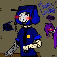 Phone Guy. (FNaF 1-3) by YaoiLover113