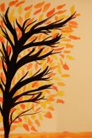 Fire Ink Tree aflame ^.^ by Carolinel3