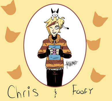 Chris and Foofy by NGlumly