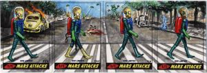 Mars Attacks - Abbey Road by tdastick