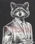 Dapper Coon by rchlisawesome