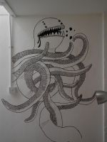 idle octopus by cromArt
