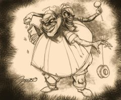 Tweedles Concept Sketch by gregbo