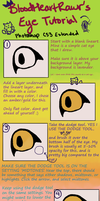 My Eye Tutorial for Photoshop by NinjasHeart