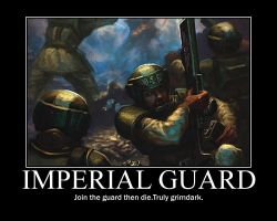 Imperial Guard by IvanTih