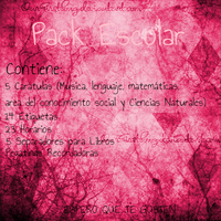 Pack Escolar by musicalnoteeditions