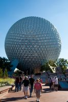 Epcot Ball by CheesyPinoy