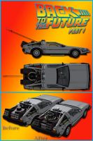 BTTF DeLorean Part 1 Edition by DecanAndersen