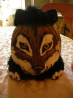 My Wonderful Wolf Pumpkin by PawstepsOfBlood