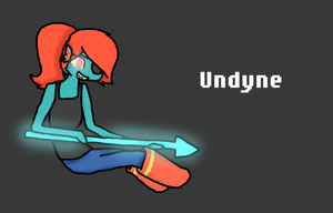 Undyne Wallpaper by SweetflameofMC