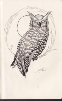 Owl by 29CentPens