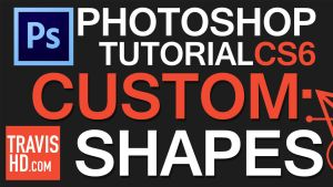 Custom Shapes Tutorial Video by ShindaTravis