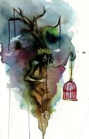 Voodoo Birdcage by ComicMunky