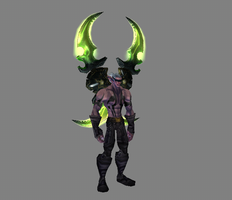 Demon Hunter Kaparis by notsotoasty