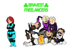 Bravest Freelancers : Recolored by pfennings