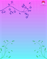 Floral Stationary: Read Rules by Levi-Ackerman-Heicho