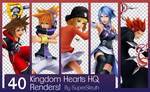 Kingdom Hearts HQ Render Pack by SuperSleuth10