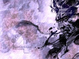 MGS4 Wallpaper by Amedeo