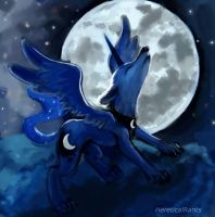 Princess Luna's Fursona by HereticalRants