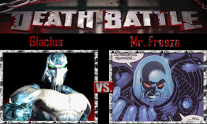 Glacius vs Mr. Freeze by SonicPal