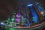 Moscow city lights - 2 by Tori-Tolkacheva