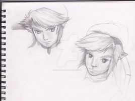Link sketches by Link-artist