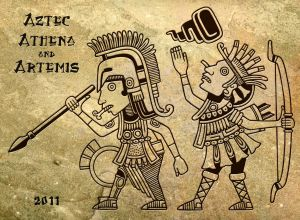 Aztec Greek Goddesses