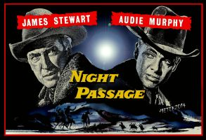 Night Passage (1957) - Metek09 Artwork by Metek09