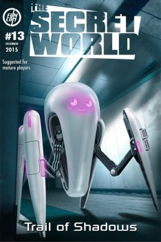 TSW - issue 13 cover by Legibbon