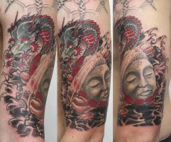 tamon ten tattoo by graynd