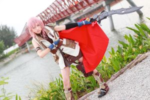Final Fantasy XIII - Lightning by Xeno-Photography