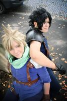 Zack Cloud Cosplay - Partners by zahnpasta