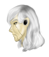 GLaDOS Mannequin- sideview by Lefuulei-Art