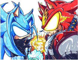 blizz and blaze the hedgehog by trunks24