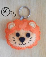 Lion Keyholder by 402ShionS3