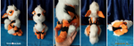 Pokemon: Arcanine 3.0 plushie spread by RamenCartel