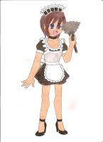 Contest: French Maid by animequeen20012003
