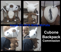 Cubone Backpack by Tez-Taylor