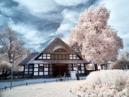 Dahlem Underground Station Infrared by MichiLauke