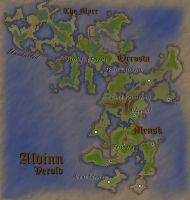 Verold, Aldinn: Fantasy Map (Light) by Aldrnarii
