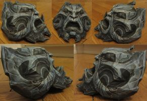 assembly: war from darksiders's right arm pauldron by minidelirium