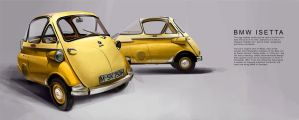 BMW Isetta by GoodrichDesign