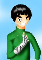 Rock Lee by CupHa1ful