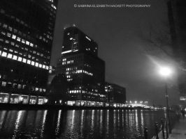 London Dock Nightscene by Hitomii